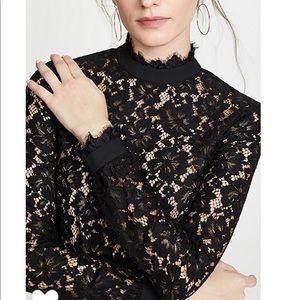 Wayf Berklin lace top
